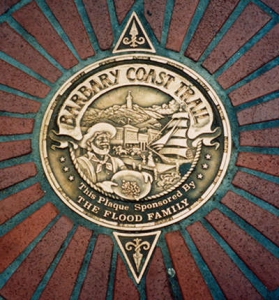 Barbary Coast Trail insignia