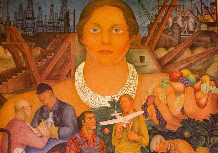 Diego Rivera - Allegory of California