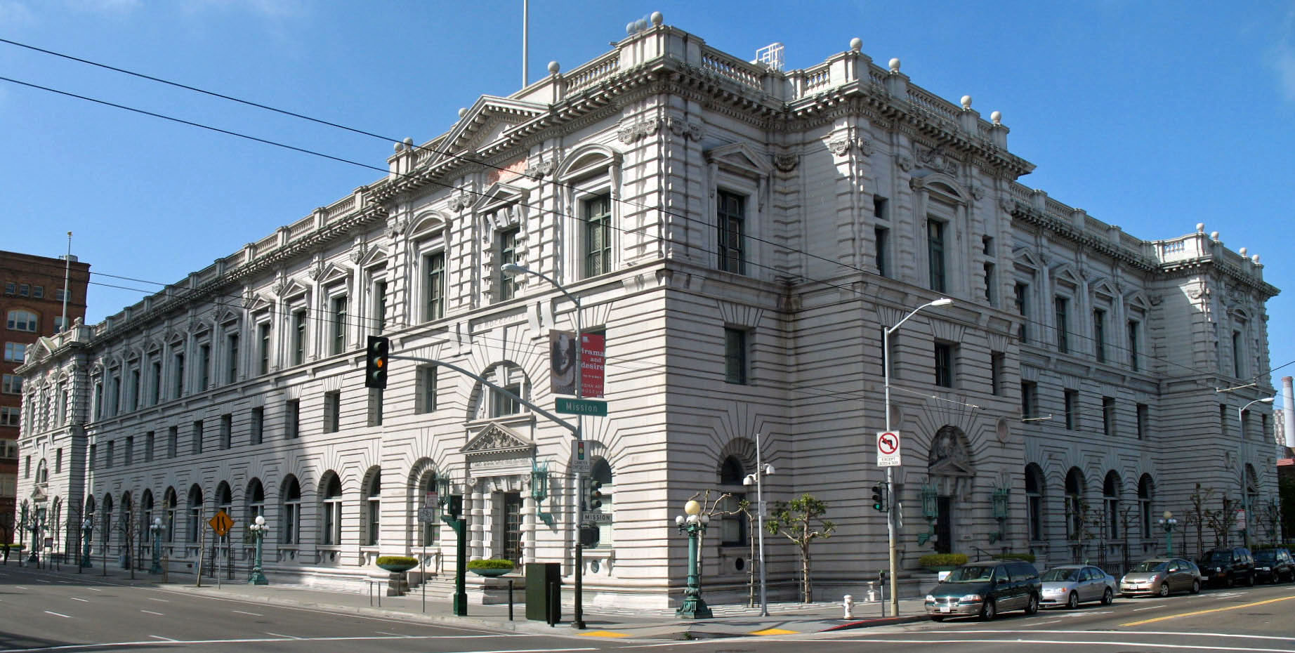 U.S. Post Office & Courthouse, 7th & Mission Street, SF. Photo by Sanfranman59