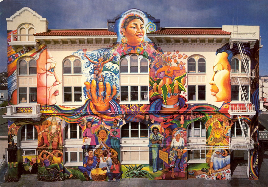 San Francisco Women's Building Mural