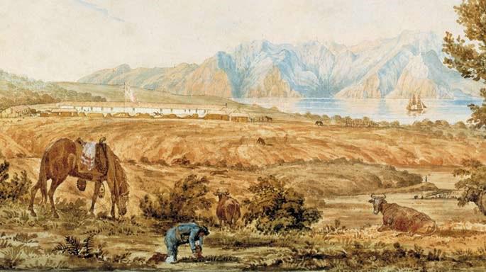 SF Presidio; Beechey, 1826