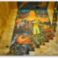 "The mural ""Allegory of California"" by Diego Rivera, graces the stairwell of the City Club (Formerly the Pacific Stock Exchange Club)."