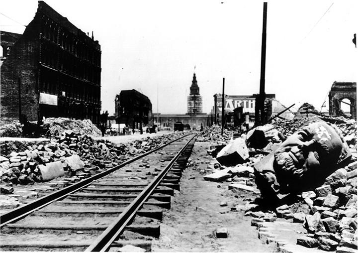 Market Street, 1906; San Francisco
