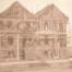 Fernando Nelson home under construction in 1905