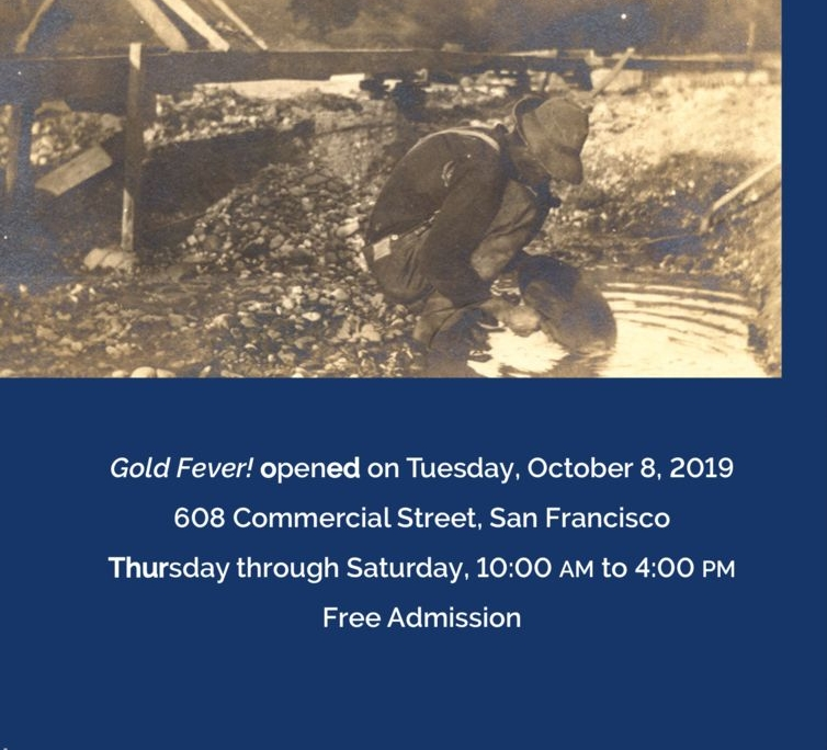 SFHS Gold Fever exhibit