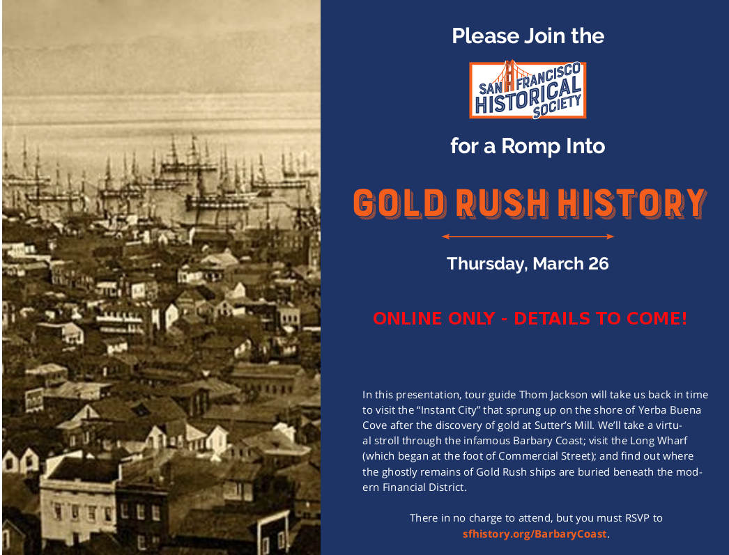 Gold Rush Presentation Flyer