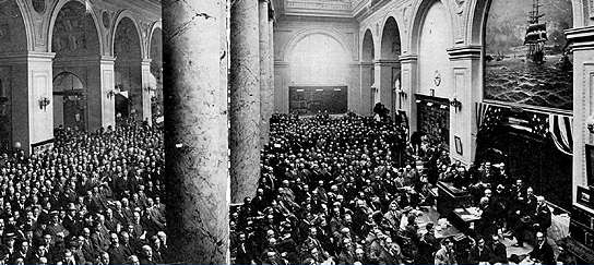 April 1910 Meeting at Merchants Exchange